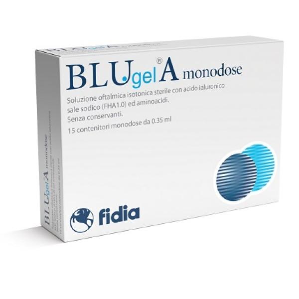 Blu Gel A Collirio Soluzione Oftalmica Lubrificante 15 Flaconcini