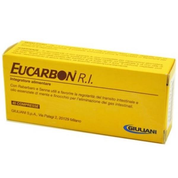 Eucarbon Integratore Alimentare Intestino 40 compresse
