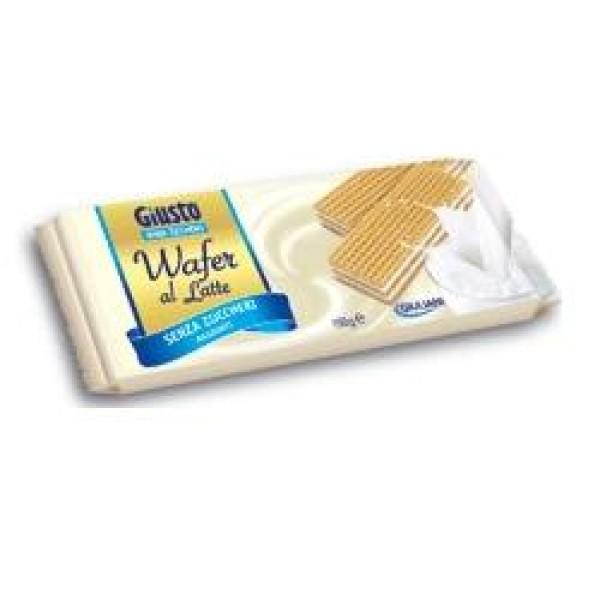 Giusto Senza Zuccheri Aggiunti Wafer al Limone 150 grammi