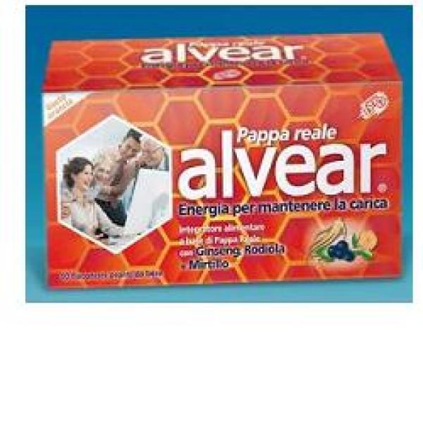 Alvear Pappa Reale con Ginseng Integratore Alimentare 10 Flaconcini 10 ml