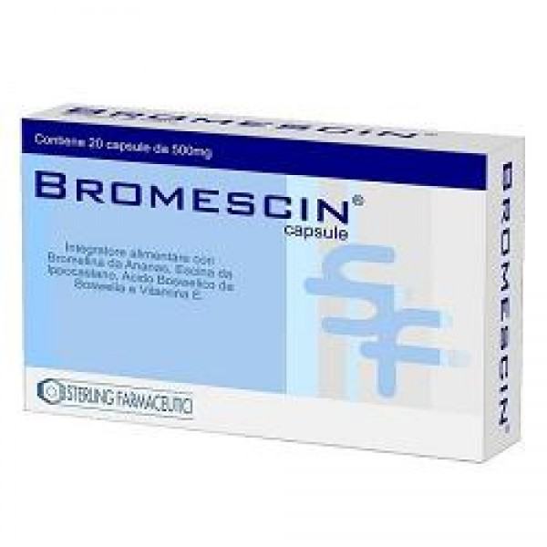 BROMESCIN 20 Cps 500mg