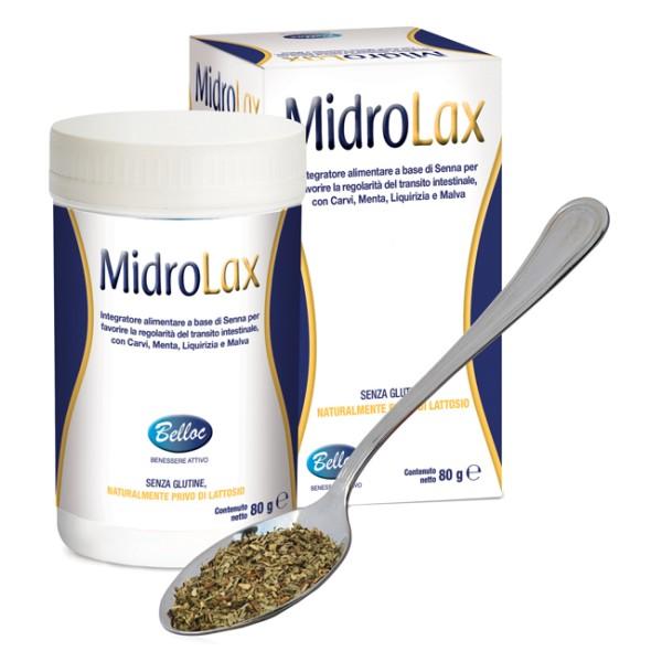 Belloc MidroLax Polvere 80 grammi - Integratore Regolarità Intestinale