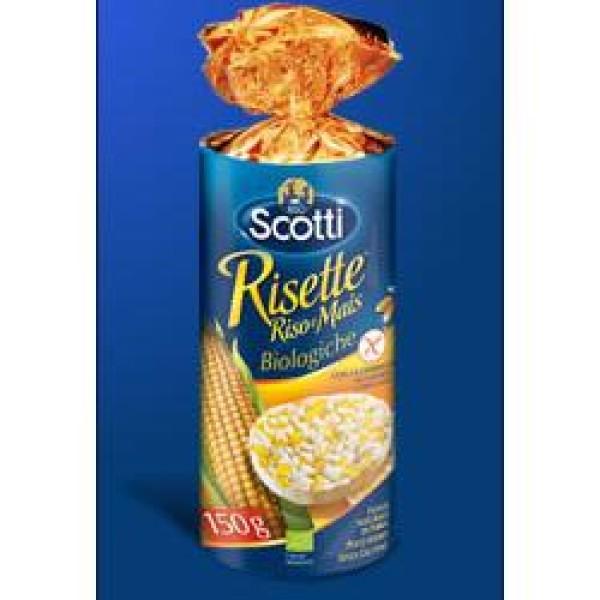Scotti Risette Riso/Mais 150 grammi