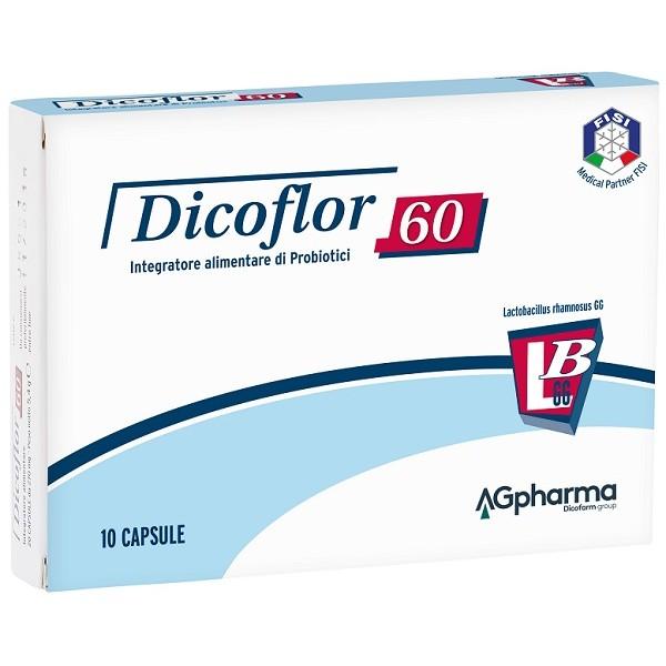 Dicoflor 60 10 Capsule - Integratore Fermenti Lattici