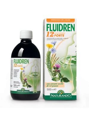 Fluidren 12 Forte 500 ml - Integratore Alimentare