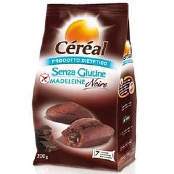 Cereal Madeleine Noire Senza Glutine 200 grammi