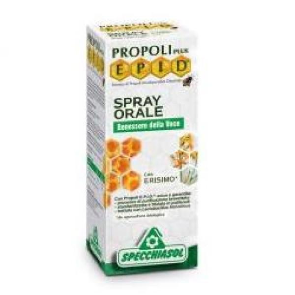 Specchiasol Epid Spray con Propoli Epid e Erisimo 15ml