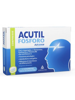 Acutil Fosforo Advance Fosfoserina 50 Compresse