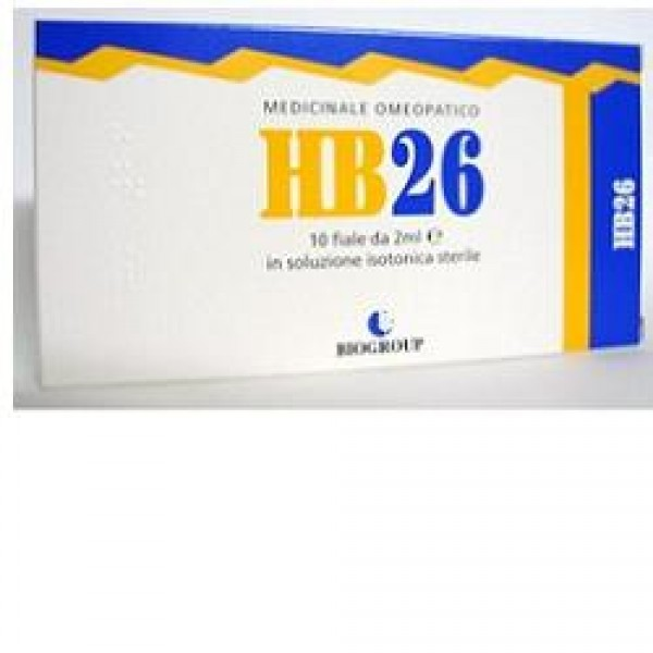 Biogroup HB 26 Flogonerv 10 Flaconcini - Medicinale Omeopatico