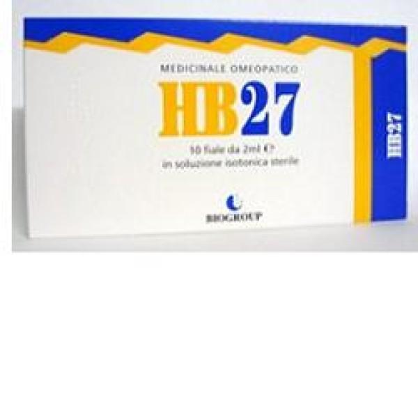 Biogroup HB 27 Contradol 10 Flaconcini - Medicinale Omeopatico