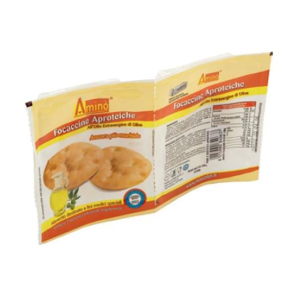 Amino' Focaccia Aproteica all'Olio di Oliva 100 grammi