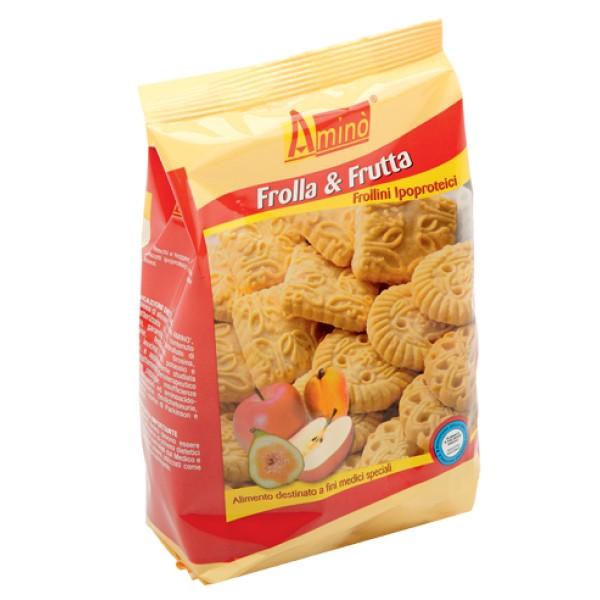 Amino' Frolla & Frutta Frollini Aproteici 200 grammi