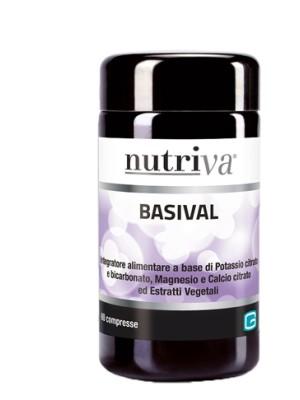 Nutriva Basival 60 Compresse - Integratore Sali Minerali
