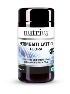 Nutriva Flora 50 Compresse - Integratore Fermenti Lattici