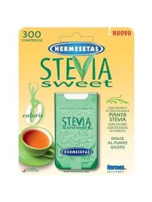 Hermesetas Stevia Sweet Dolcificante Acalorico 300 Compresse
