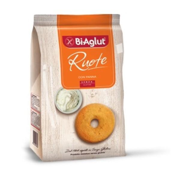 Biaglut Biscotti Senza Glutine Ruote 180 grammi