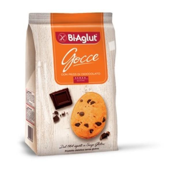 Biaglut Biscotti con Gocce di Cioccolato Senza Glutine 180 grammi