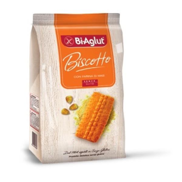 Biaglut Biscotti Senza Glutine Farina di Mais 180 grammi