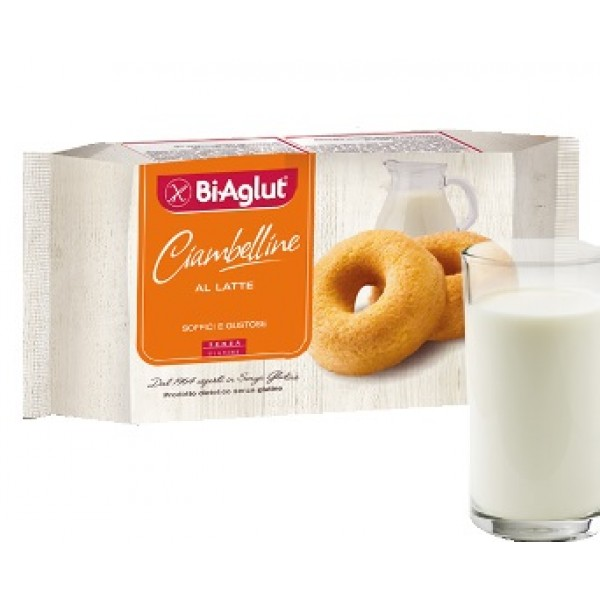 Biaglut Ciambellina al Latte 180 grammi