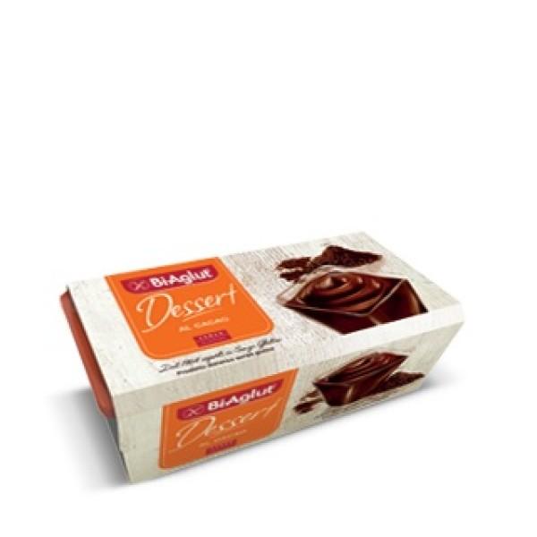 Biaglut Dessert al Cacao Senza Glutine 2 x 120 grammi