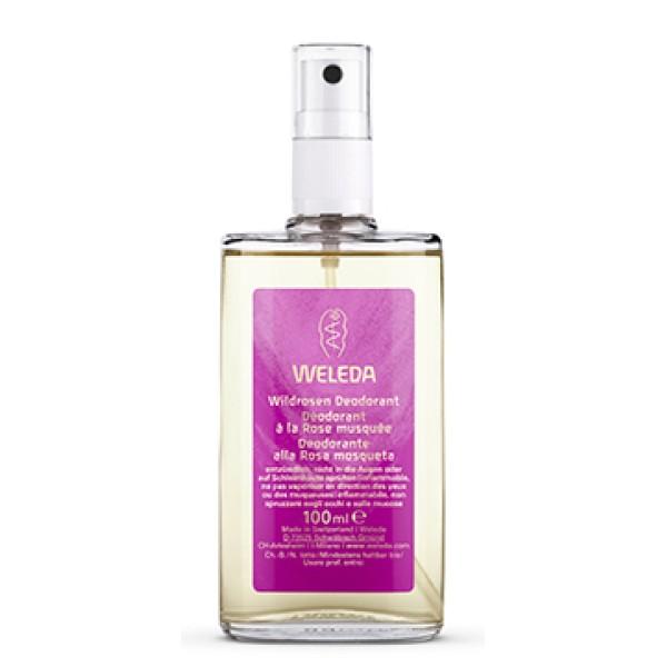 Weleda Deo Rosa Mosqueta Deodorante Naturale 100 ml