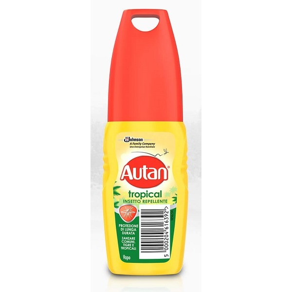 Autan Tropical Vapo Antizanzare 100ml