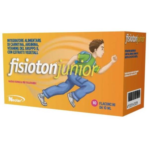 Fisioton Junior 10 Flaconcini - Integratore Energizzante