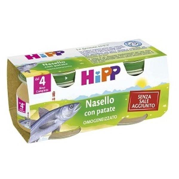 Hipp Bio Omogeneizzato Nasello con Patate 2 x 80 grammi