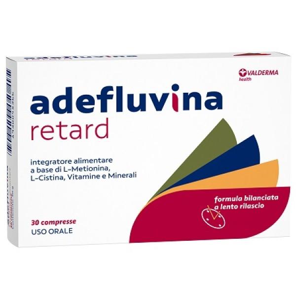 Adefluvina Retard 30 Compresse - Integratore Capelli e Unghie