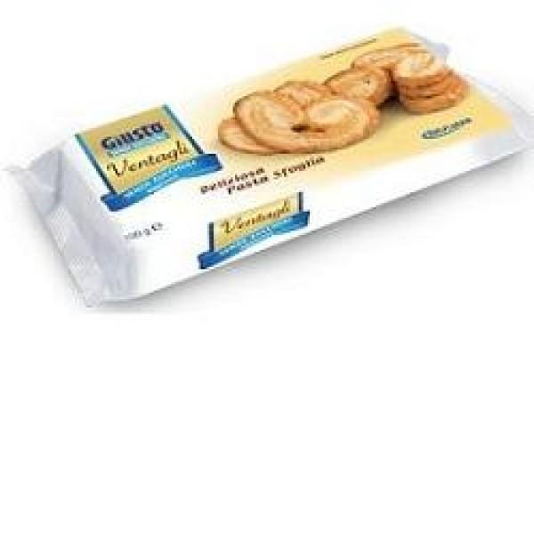 Giusto Senza Zuccheri Aggiunti Ventagli di Pasta Sfoglia 100 grammi