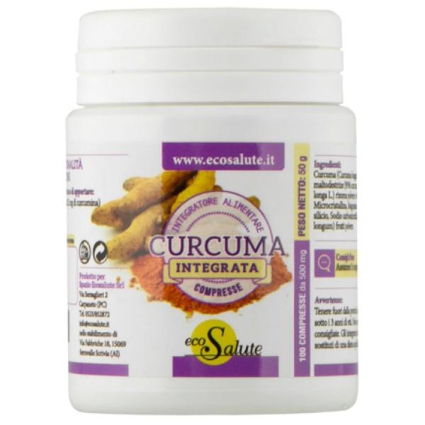 Curcuma 100 Compresse - Integratore Alimentare