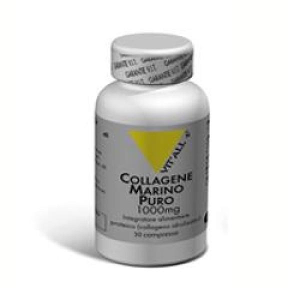 Vital Plus Collagene Marino Puro 30 Compresse - Integratore Alimentare