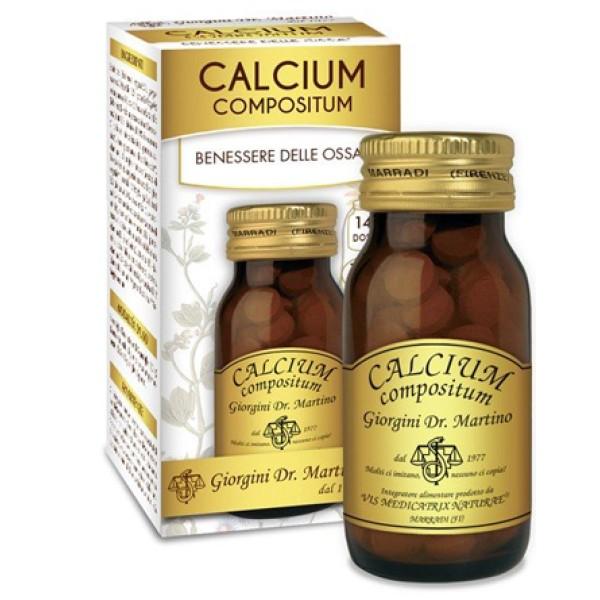 Calcium Compositum 100 Pastiglie Dr. Giorgini - Integratore Benessere Ossa