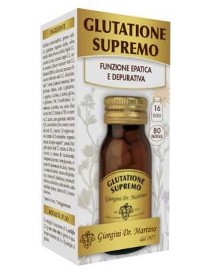 Glutatione Supremo 100 Pastiglie Dr. Giorgini - Integratore Funzionalita' Epatica e Depurativa
