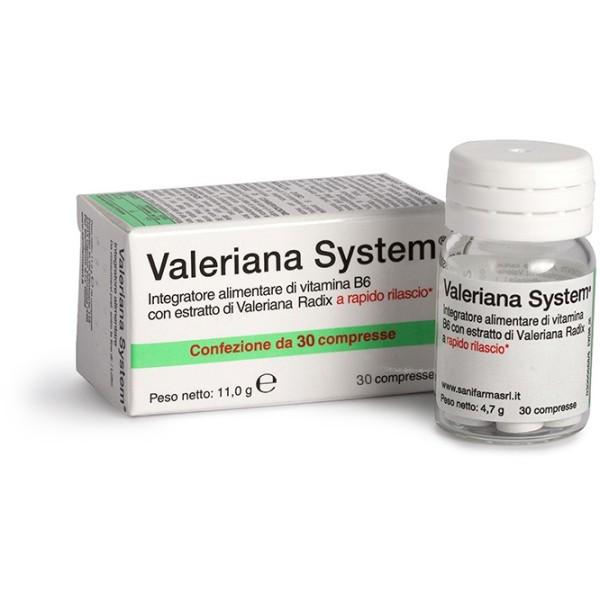 VALERIANA SYSTEM 70Cpr
