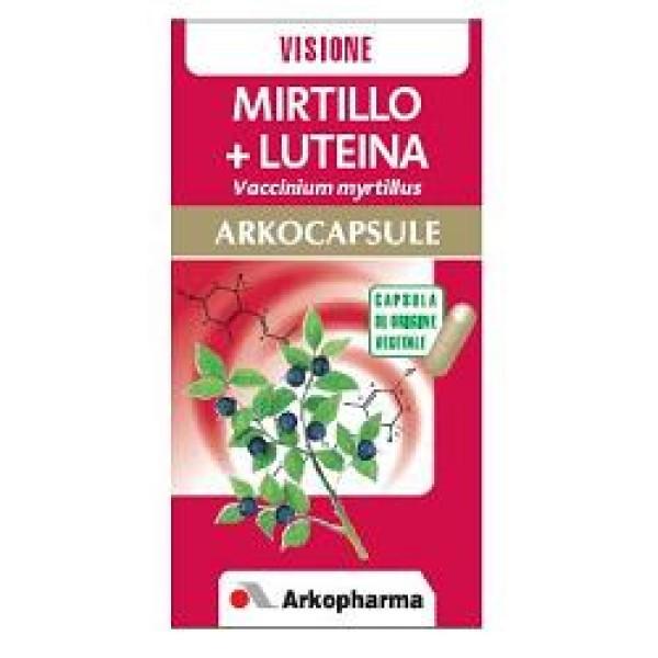 Arkocapsule Mirtillo + Luteina - Integratore Vista
