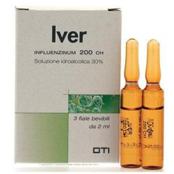 Oti Iver Influenzinum 200CH 3 Fiale - Medicinale Omeopatico