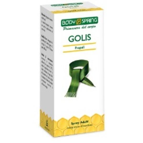 Body Spring Golis Spray Adulti 25 ml