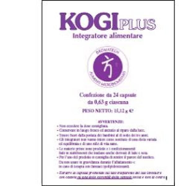 Kogi Plus 24 Capsule - Integratore Controllo Colesterolo