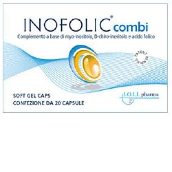 Inofolic Combi 20 Capsule - Integratore di Myo-Inositolo e Acido Folico