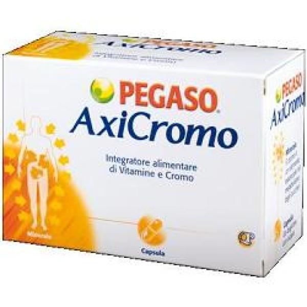 Pegaso Axicromo Integratore Vitamine E Cromo 50 Capsule