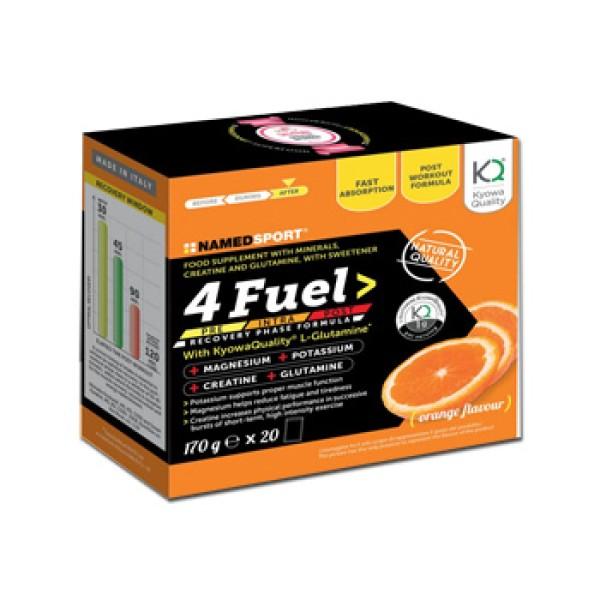 4Fuel Integratore Energizzante per Sportivi 20 Bustine