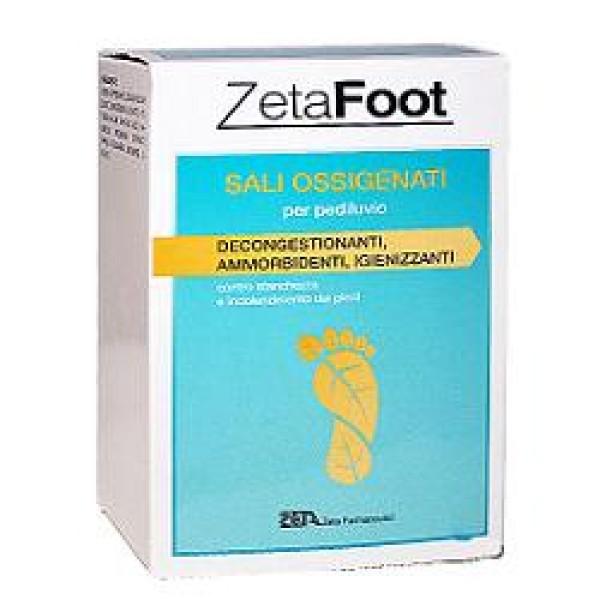 Zeta Footing Sali Ossigenati per Pediluvio 10 Bustine 20 grammi