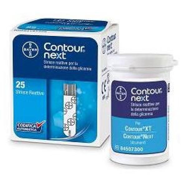 Contour Next Strisce Reattive per la Glicemia 25pz