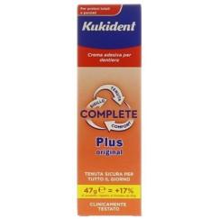 Kukident Complete Plus Original Crema Adesiva Gusto Menta Light 47 grammi