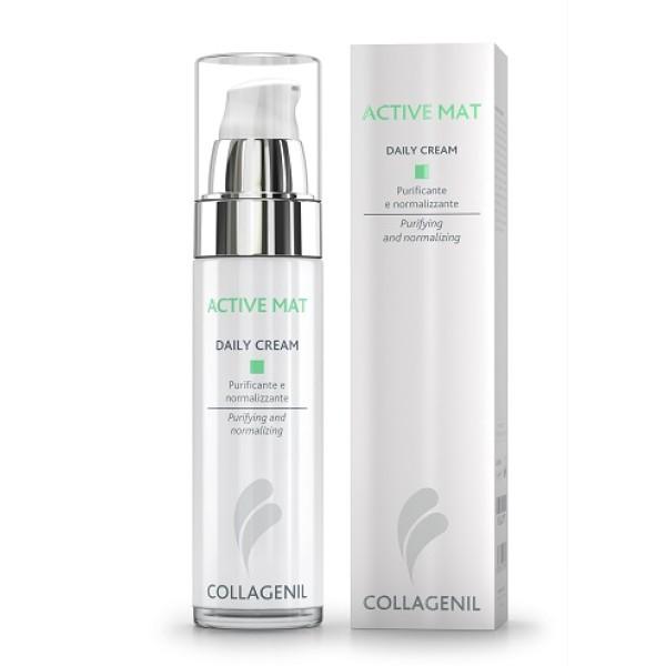 Collagenil Active Mat Daily Crema Pelle Grassa Viso 50ml