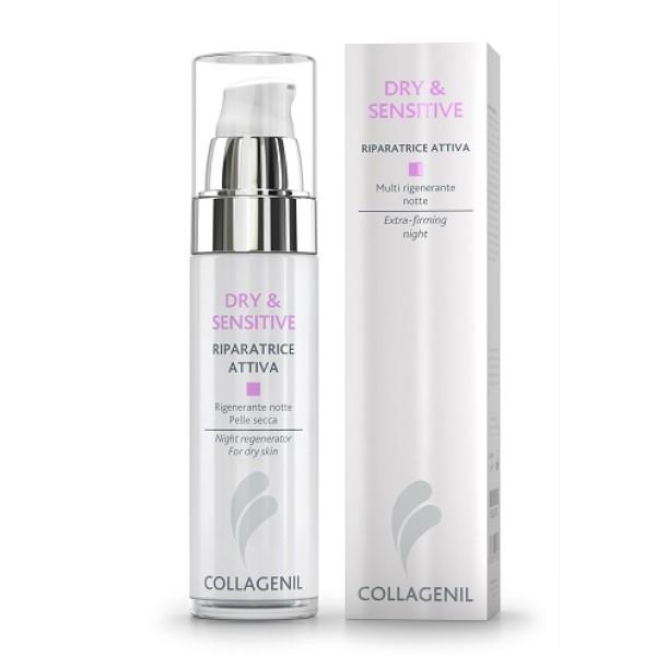 Collagenil Dry & Sensitive Riparatrice Attiva Notte Viso 50ml