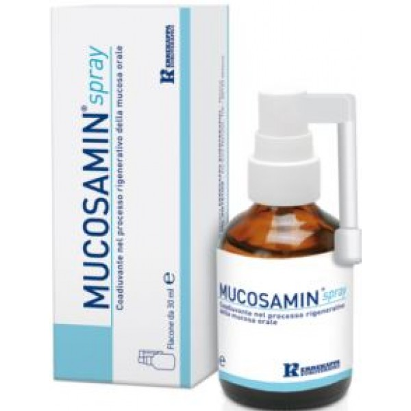 Mucosamin Spray Rigenerante Mucosa Orale 30 ml