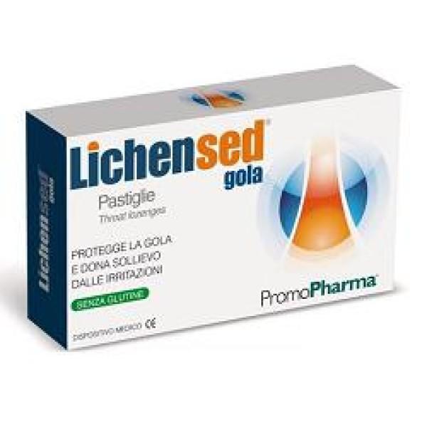 LichenSed 20 Pastiglie Gola PromoPharma - Integratore Alimentare