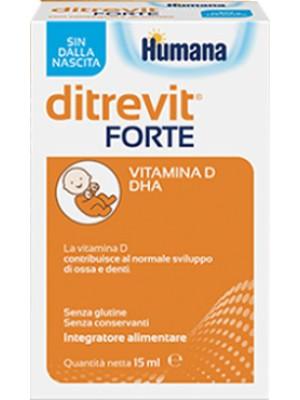 Humana Ditrevit Forte Gocce Integratore Alimentare 15 ml